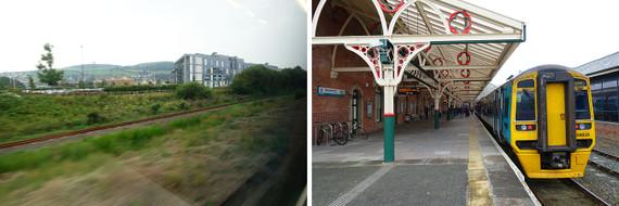 ウェールズの鉄道を訪ねて-アベ...