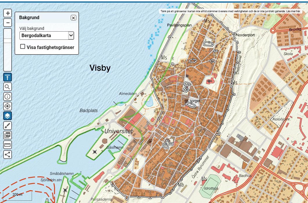 地形図を見るサイト-スウェーデン: 地図と鉄道のブログ